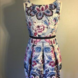 Adrianna Patel Knee length floral dress